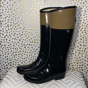 Regent Carlyle Rubber Rain Boot Riding style RARE